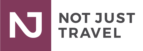 My Not Just Travel Retina Logo